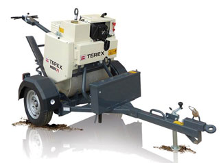 Single Drum Pedestrian Rollers Hire