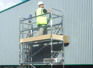 Ladder Frame Tower Hire or purchase
